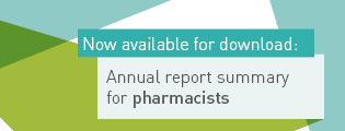 Now available for download: Annual report summary for pharmacists.